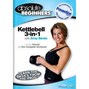 Absolute Beginners Fitness: 3 In 1 Kettlebell Amy Bento (DVD)
